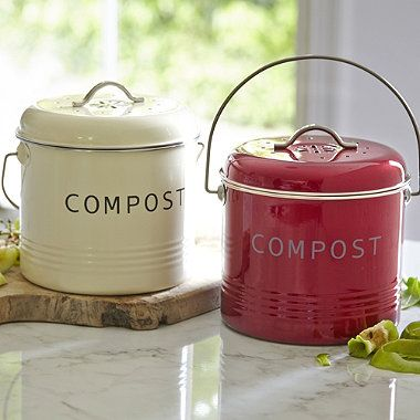 compost bins | small, tabletop compost bins allow you to minimize