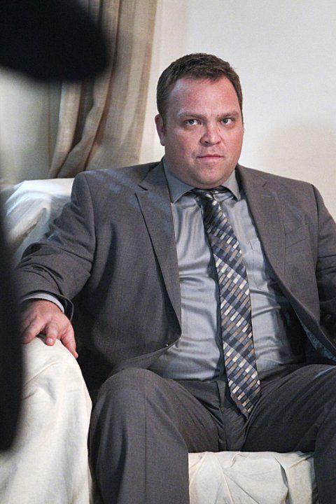 Drew Powell wears  (Suit )