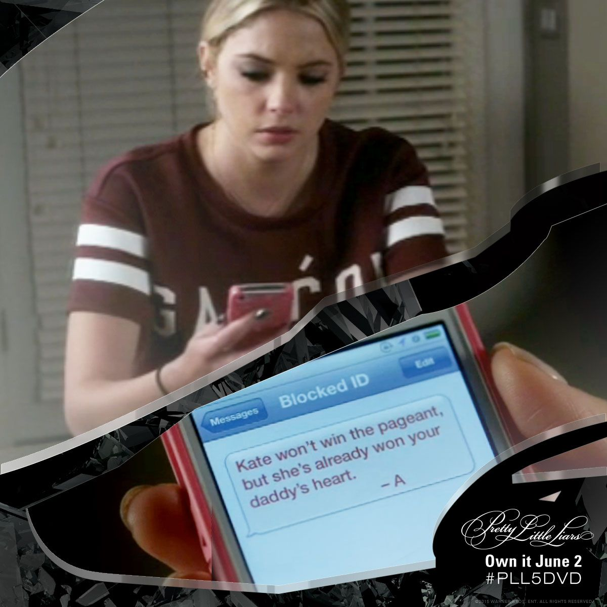 There is no part of Hannah's life that 'A' is afraid to touch. #PLL5DVD