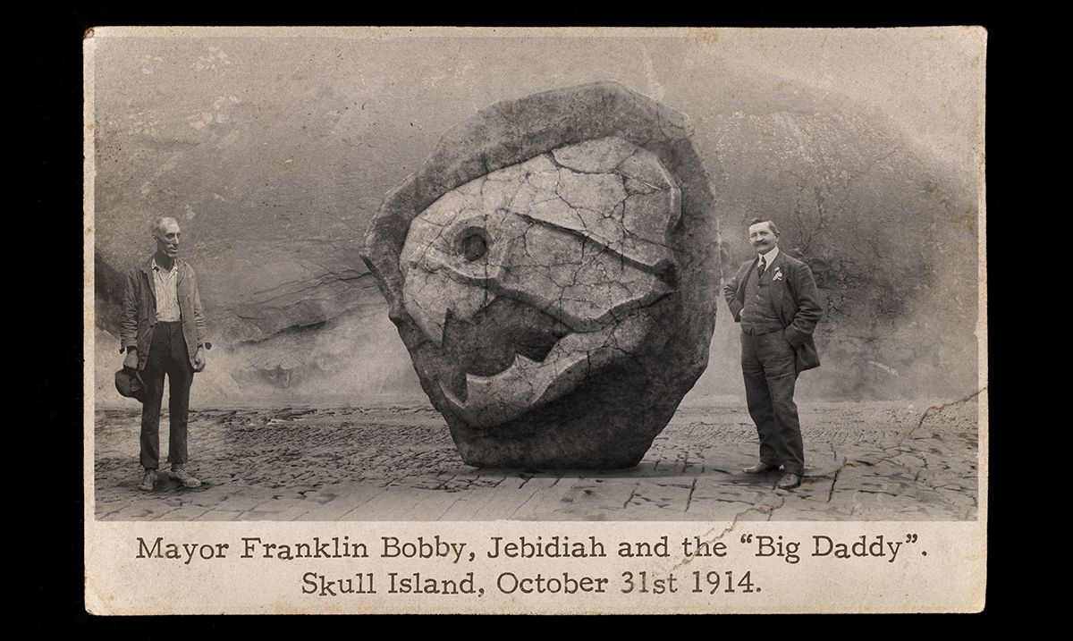"""The fossil of the """"Big Daddy."""" 