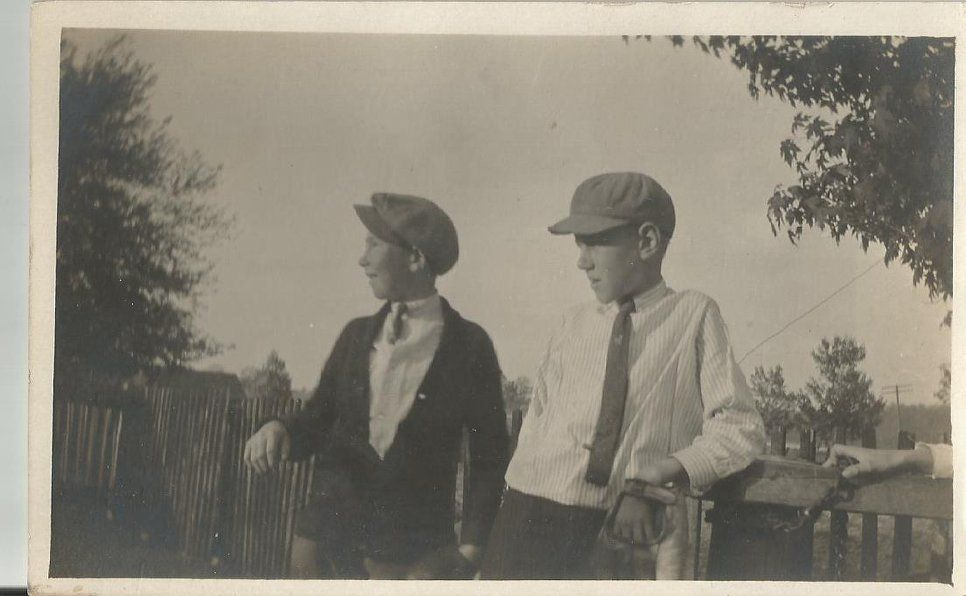 """This is an """"Unknown"""" photo postcard. No location given."""