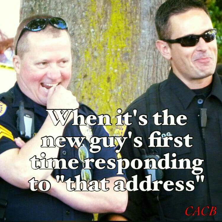 Bahahaha yes! One of the only good things about field training  I
