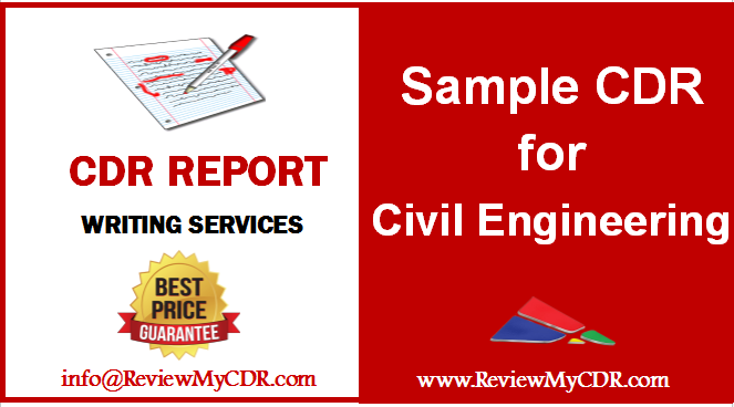 Cdr Sample Reports Are Available For All Engineering Disciplines