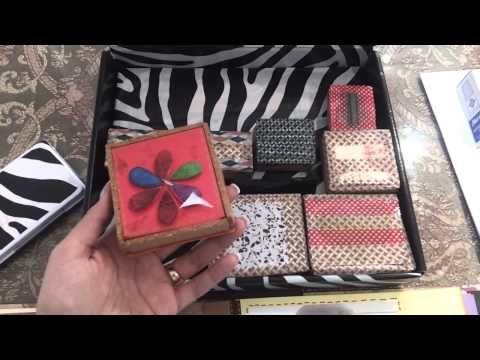 ▶ Como hacer tus propios sellos para scrapbook - YouTube