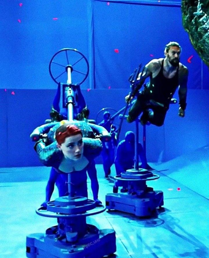 Aquaman Jason Momoa Mera Aquaman S Wifey Amber Heard: Amber Heard And Jason Momoa Filming Aquaman