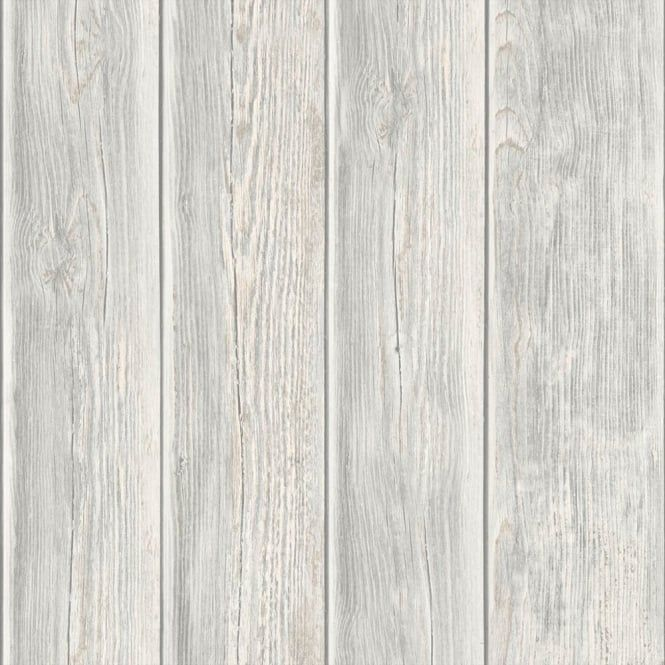 Muriva Muriva Wood Panel Faux Effect Wooden Beam Realistic Mural