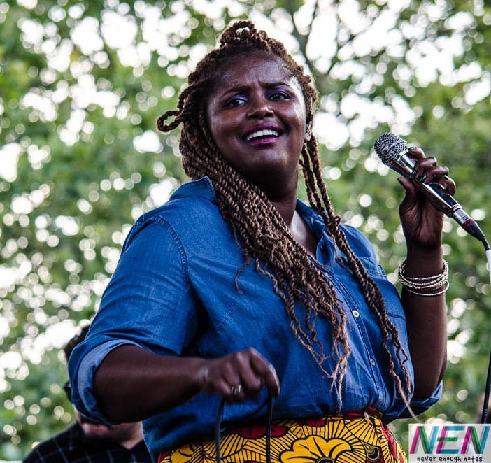 Kam Franklin (@bamitskam) of @thesuffers killing it at #xpnfest last weekend in #philadelphia.  by @cled1024