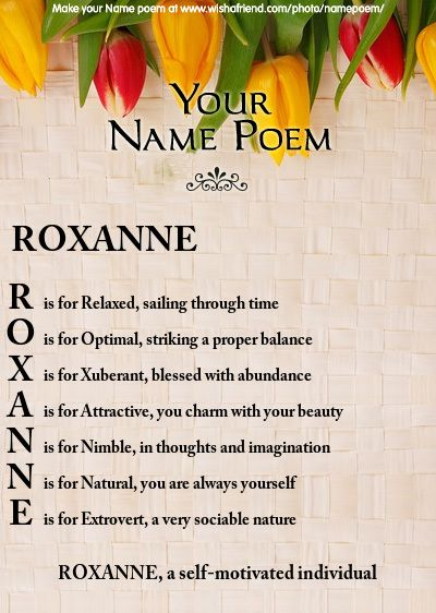 acrostic poem assignment
