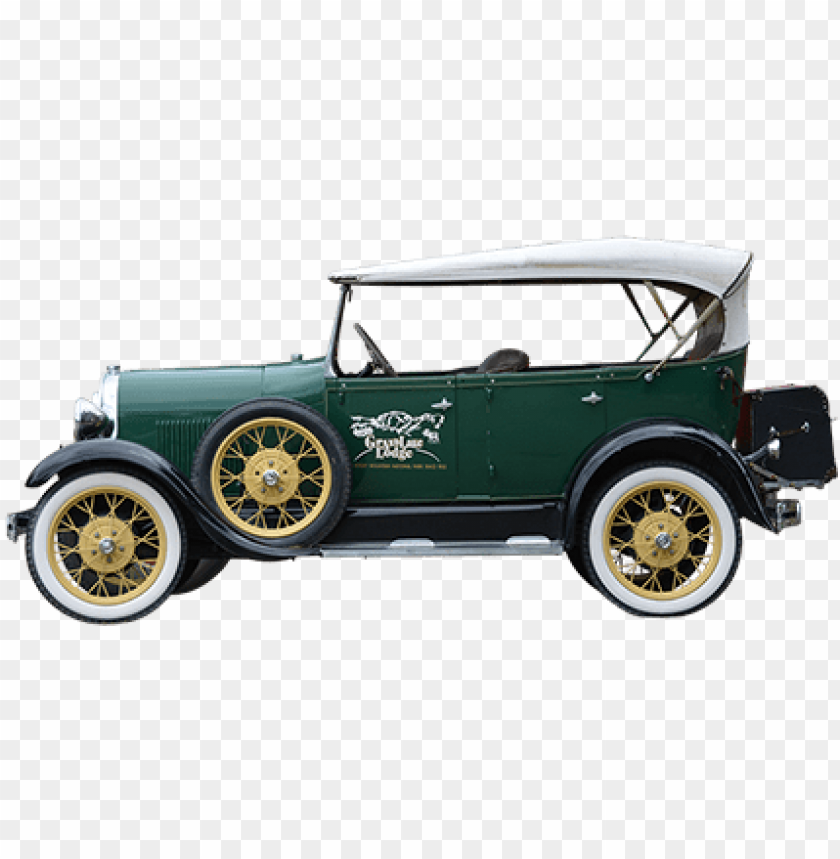 A Side Elevation Of An Old Timey Car Parked Outside Old Car Side Png Image With Transparent Background Png Free Png Images Old Cars Car Parking Image