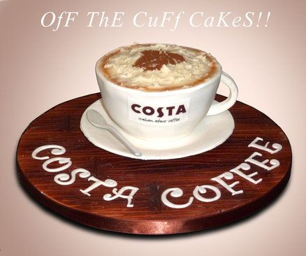 Costa Coffee Cake Cake By Off The Cuff Cakes Costa Coffee Cake Costa Coffee Coffee Cake