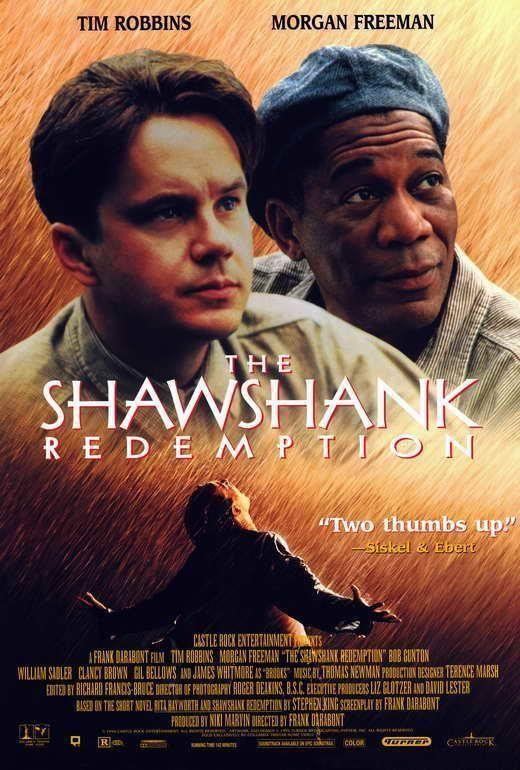The Shawshank Redemption Movie Poster 27 X 40 Tim Robbins B