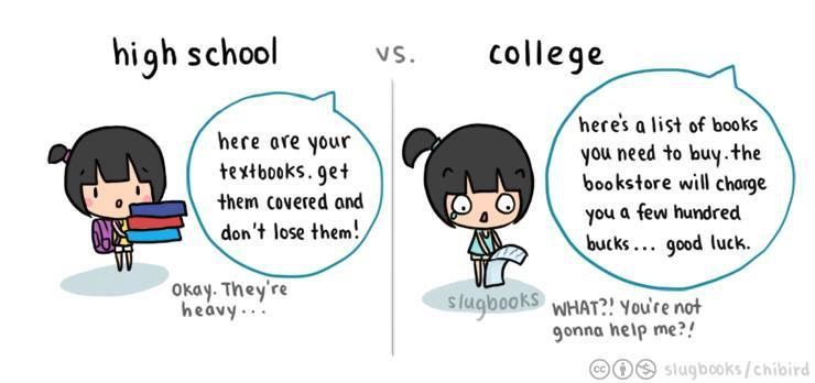 Pin By Macui Love On School Memes  College School High School Vs  High School Vs College Hate School College Life School S College Essay