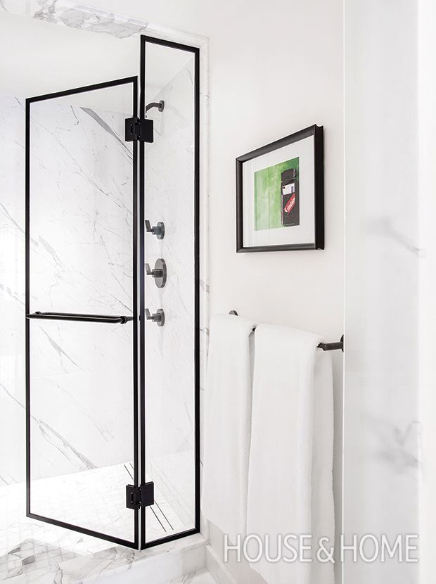 Vote For The Best House & Home Bathroom Of 2017! | Black shower ...