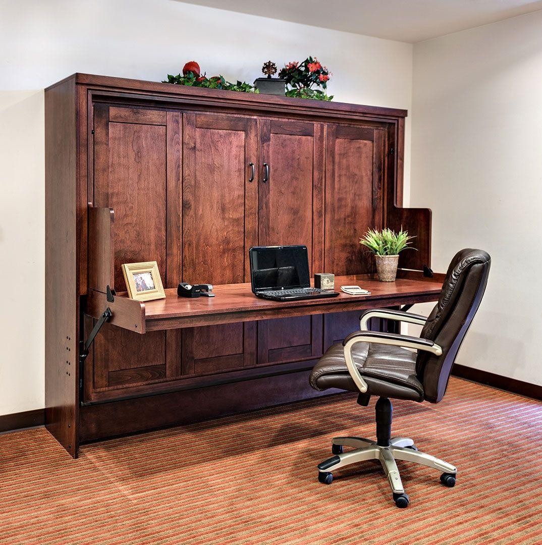 Superb Murphy Bed Office Desk Combo Good Looking