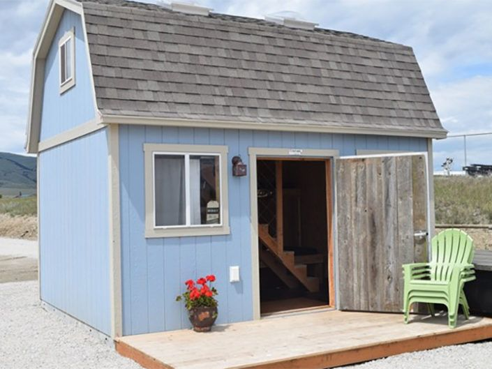 Tuff Shed Takes Over The Campground Tuff Shed Tuff Shed Guest House Shed Building A Shed