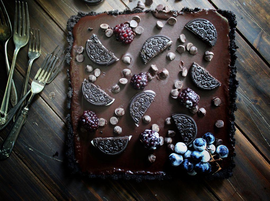 Dark Chocolate Oreo Tart – SIMPLY BEAUTIFUL EATING