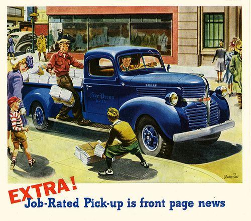 Extra Edition Pickup Trucks Dodge Pickup Vintage Pickup Trucks