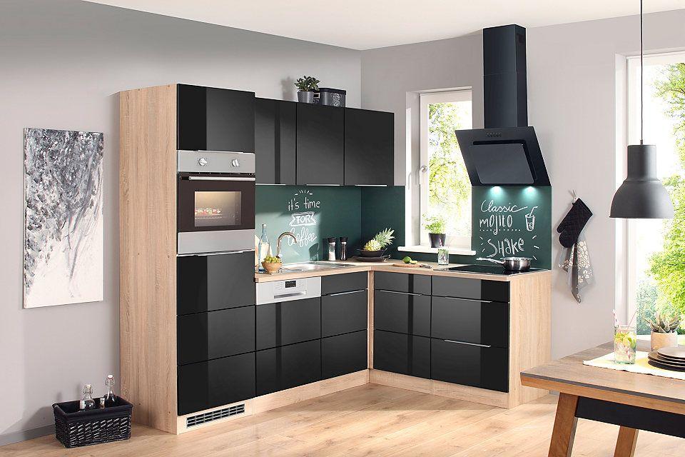 Küchenzeile mit E-Geräten »Brindisi, 230 x 170cm« Jetzt bestellen - küchenblock ohne e geräte