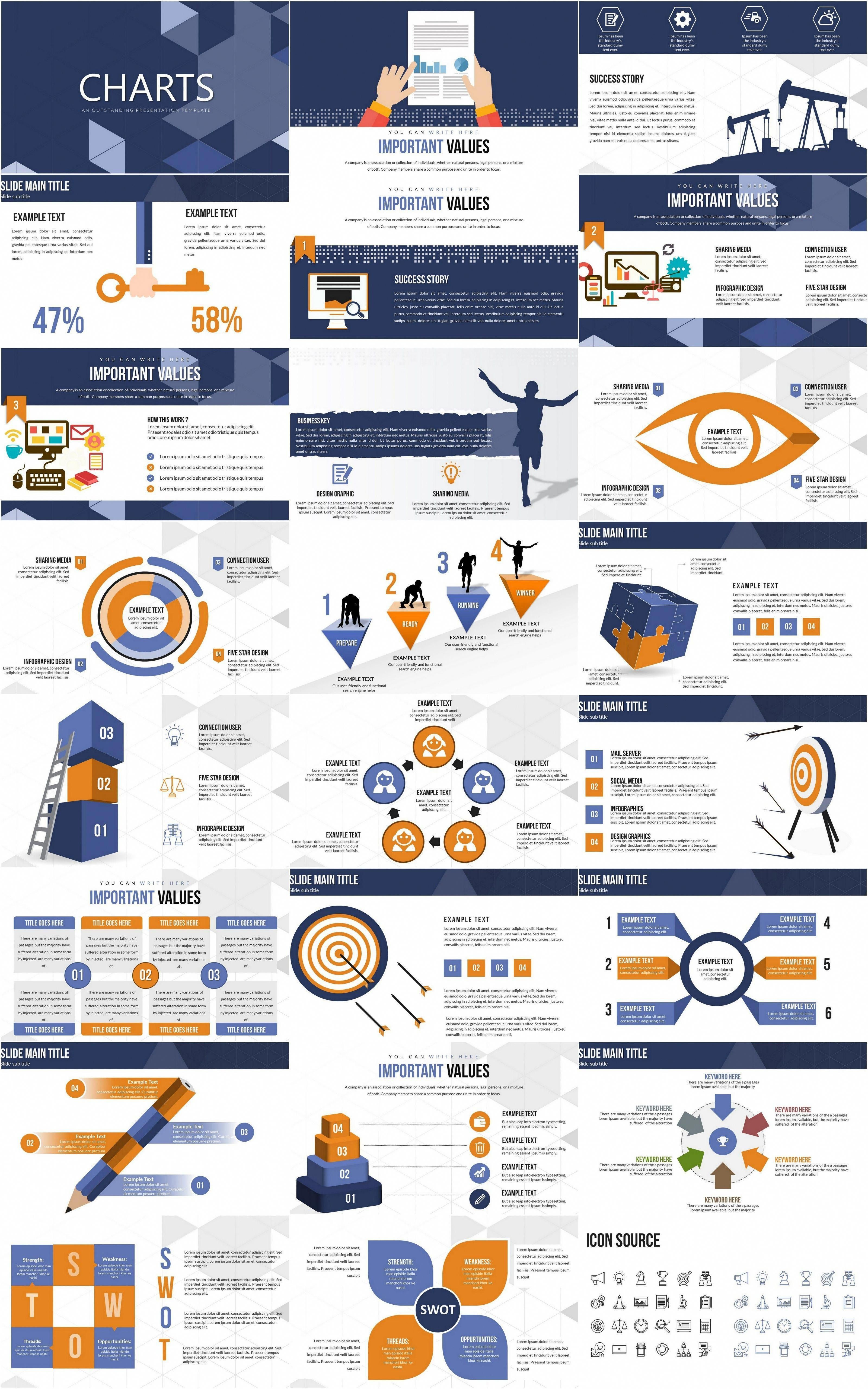 Trading powerpoint charts powerpoint design templates