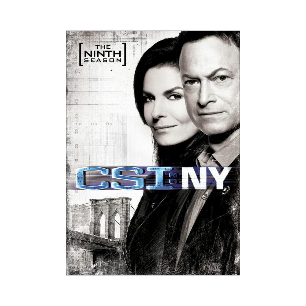 Csi New York The Ninth Season Dvd Csi Seasons Csi Las Vegas