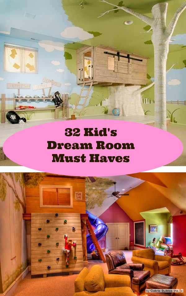 32 Kid?s Dream Room Must Haves | Kids | Pinterest | Dream rooms ...