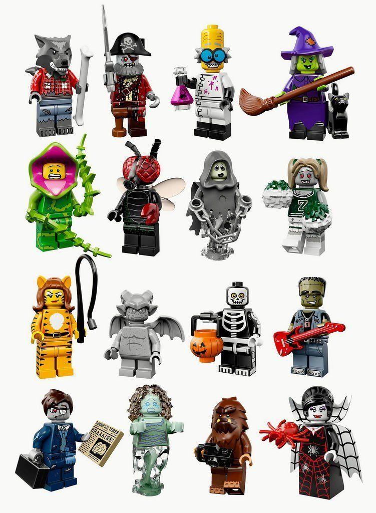 LEGO Minifiguren: Monster Serie 14, Se: Amazon.es: Juguetes y juegos