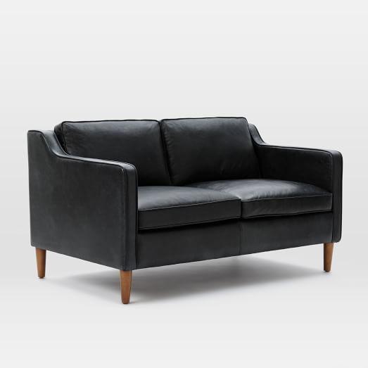 Hamilton Leather 3 Seater Sofa Sienna