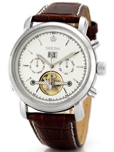 Alienwork Orkina Automatic Watch Self-winding Multi ...