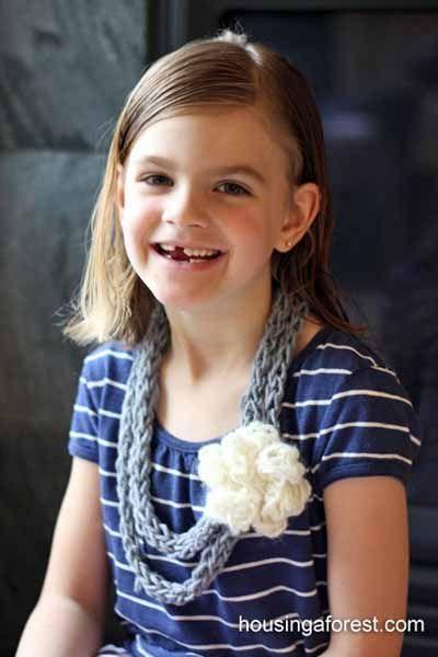 Photo of 10 einfache Fingerstrickprojekte für Kinder | Glück ist handgemacht –  – #Einf…