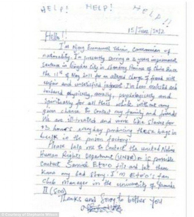 Ny Woman Finds Letter Pleading For Help Hidden Inside Her Saks Bag