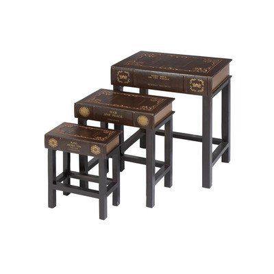 3 Piece Nesting Tables by Woodland Imports $124 95 Great Gift Idea