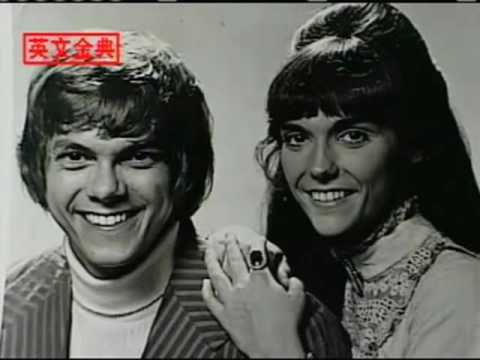 Carpenters Yesterday Once More Original Video Mp4 Oldies