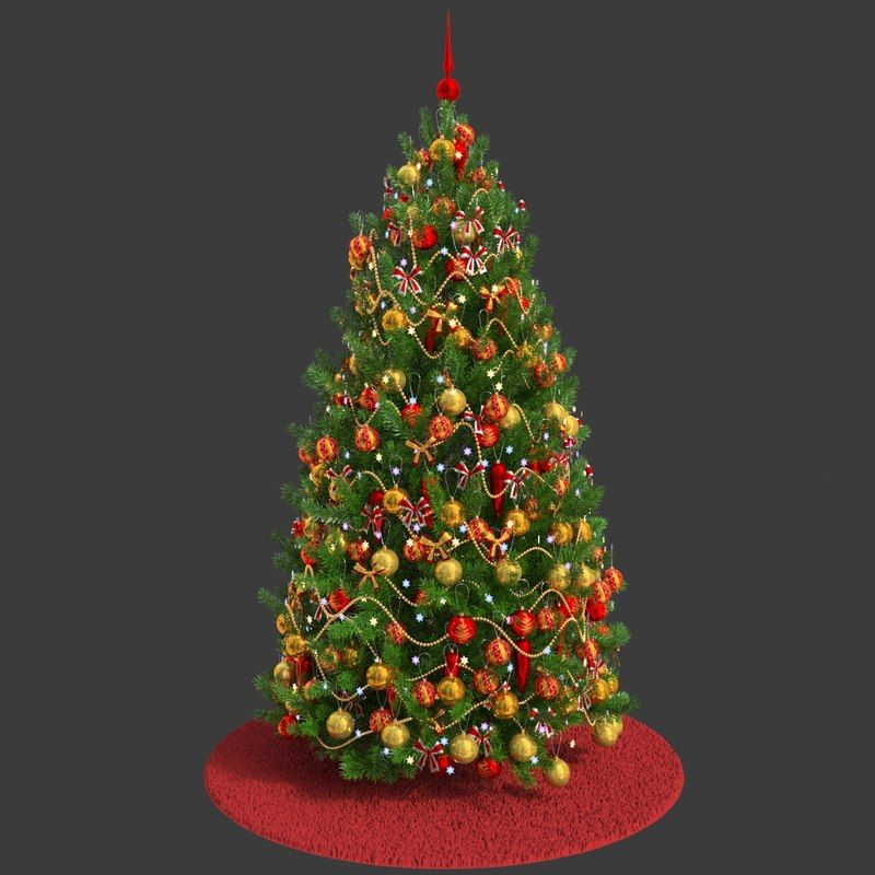 Christmas Tree 3d Model Christmas Tree 3d Model Christmas Tree Tree