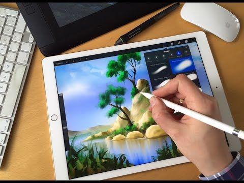 Apple Ipad Pro Mit Apple Pencil Im Test X2f Review Youtube