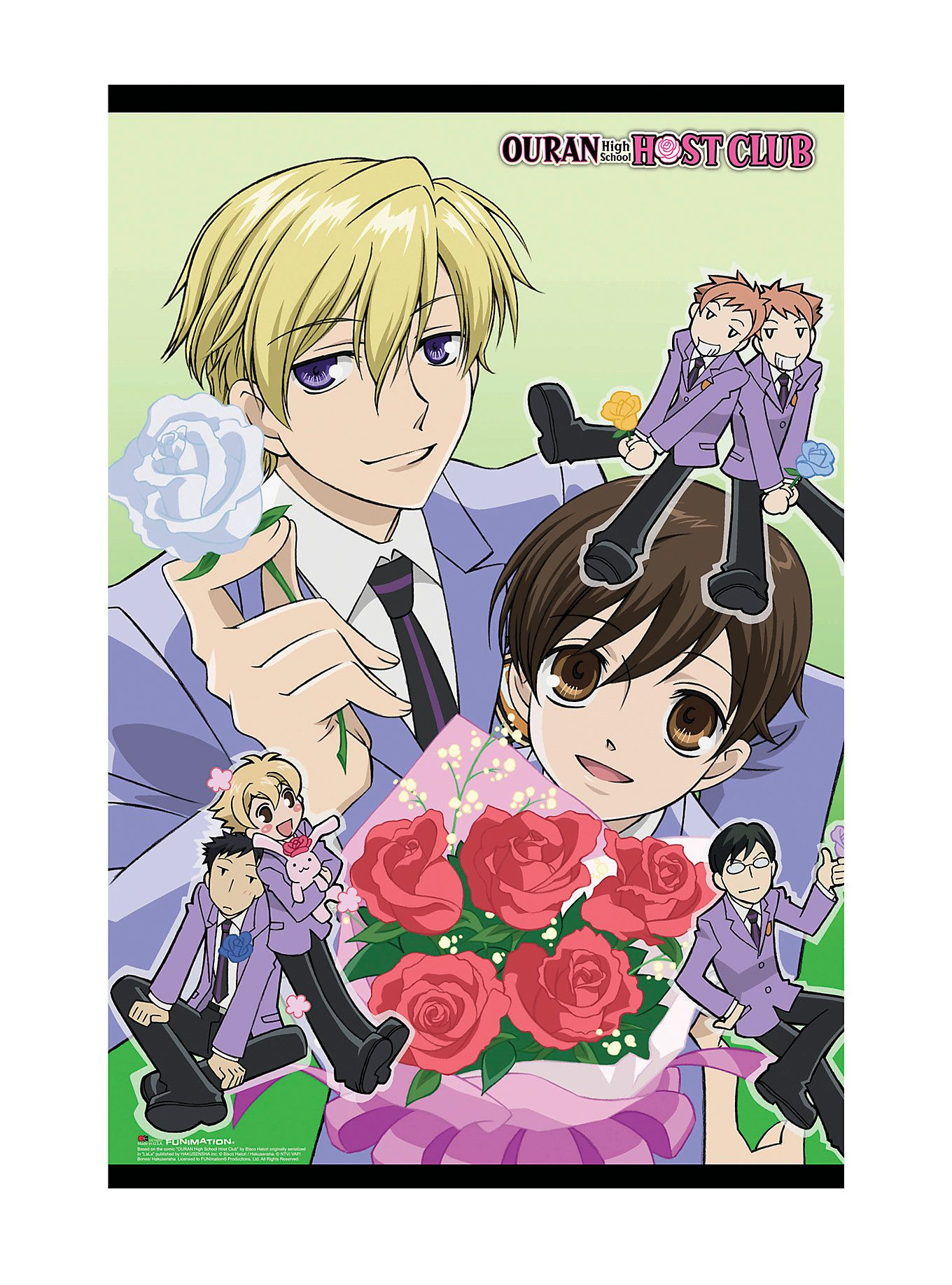 Ouran High School Host Club Rose Poster Hot Topic High