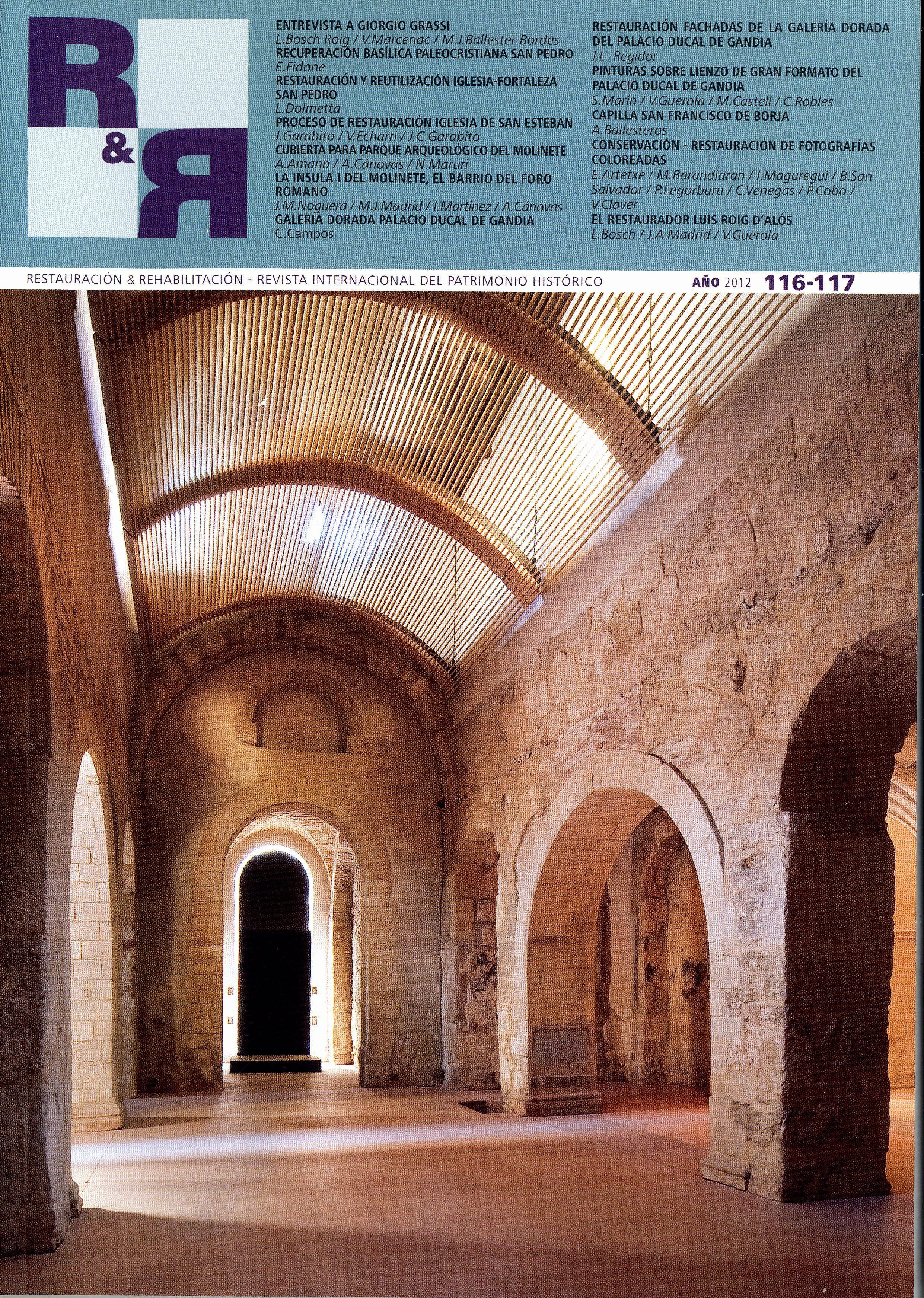 Restauraci n rehabilitaci n issn 1134 4571 fondos upm for Arquitectura de interiores upm
