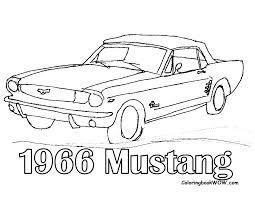 Drawing Of Ford Mustang 66 Buscar Con Google Cars Coloring