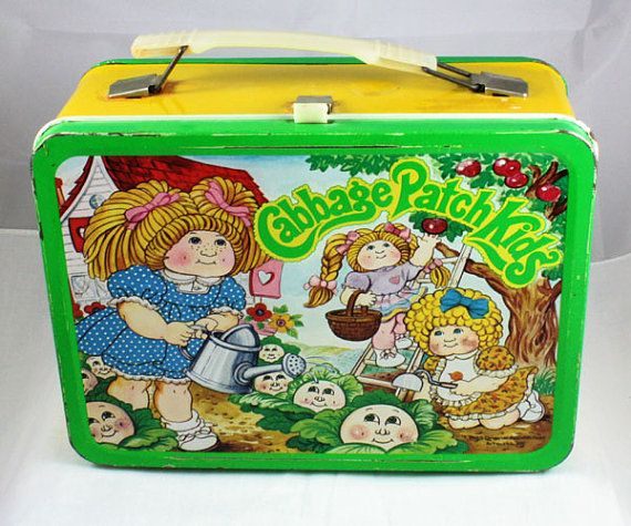 1983 Cabbage Patch Kids Lunchbox By Cebcollectibles On Etsy 25 00 Cabbage Patch Kids Kids Lunchbox Lunch Box
