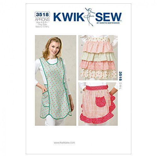Kwik Sew Ladies Sewing Pattern 3518 - Aprons (O/S) Kwik Sew https ...