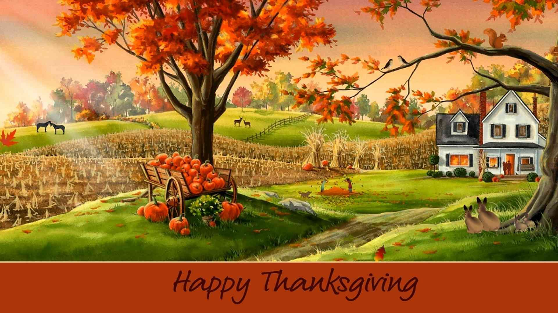 13 Thanksgiving Wallpapers for Your Computer, Tablet, and