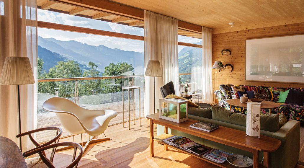 Schlafzimmer und Whirlpool Alpine Hotels Pinterest Saunas