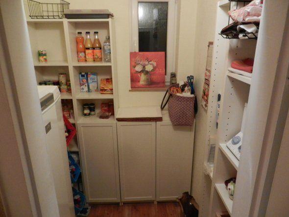 Küche u0027Speisekammer vorher-nachheru0027 Speisekammer Pinterest - küche vorher nachher