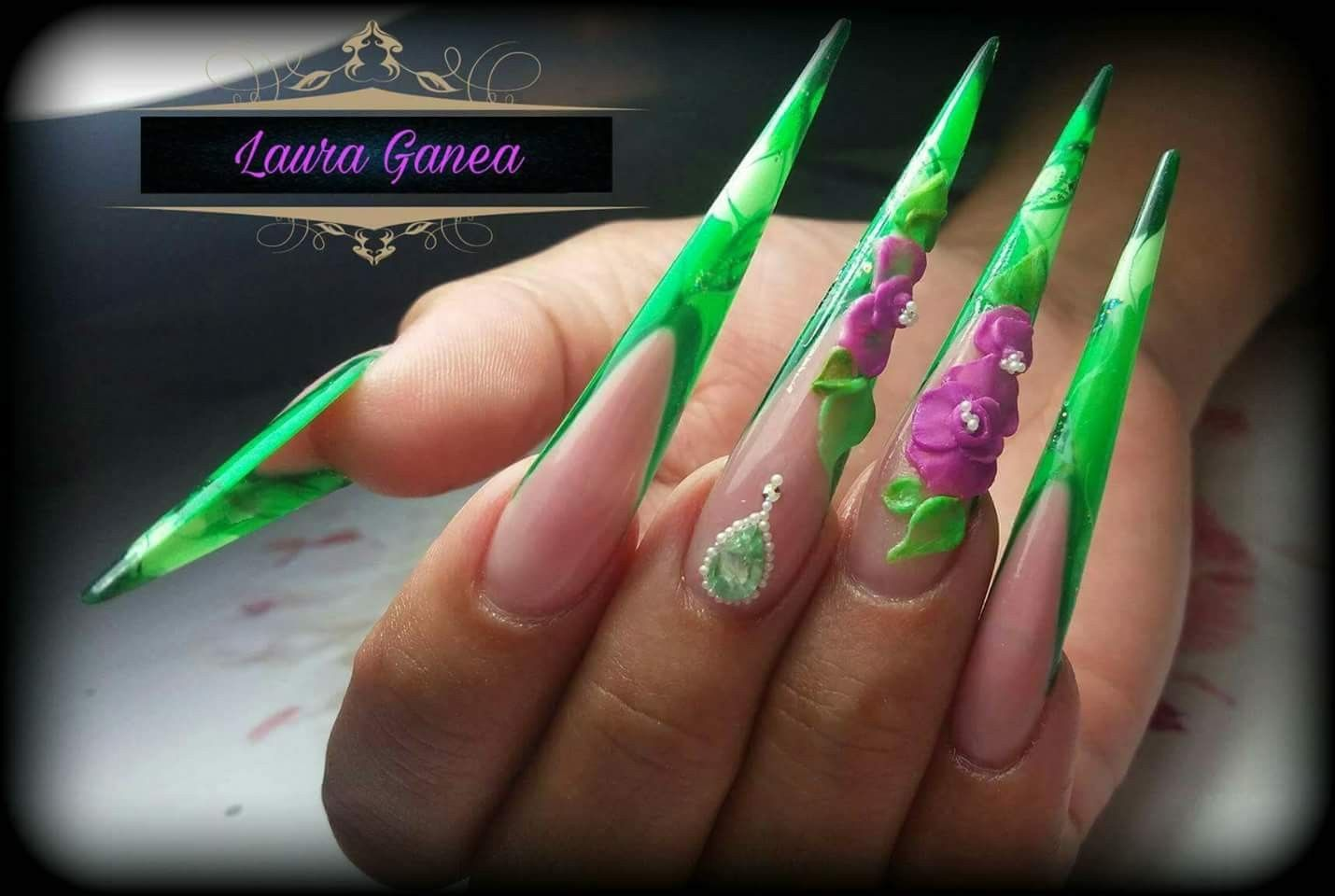 extreme #extreme nails #nailpro #amazing nails #best nails #fashion ...