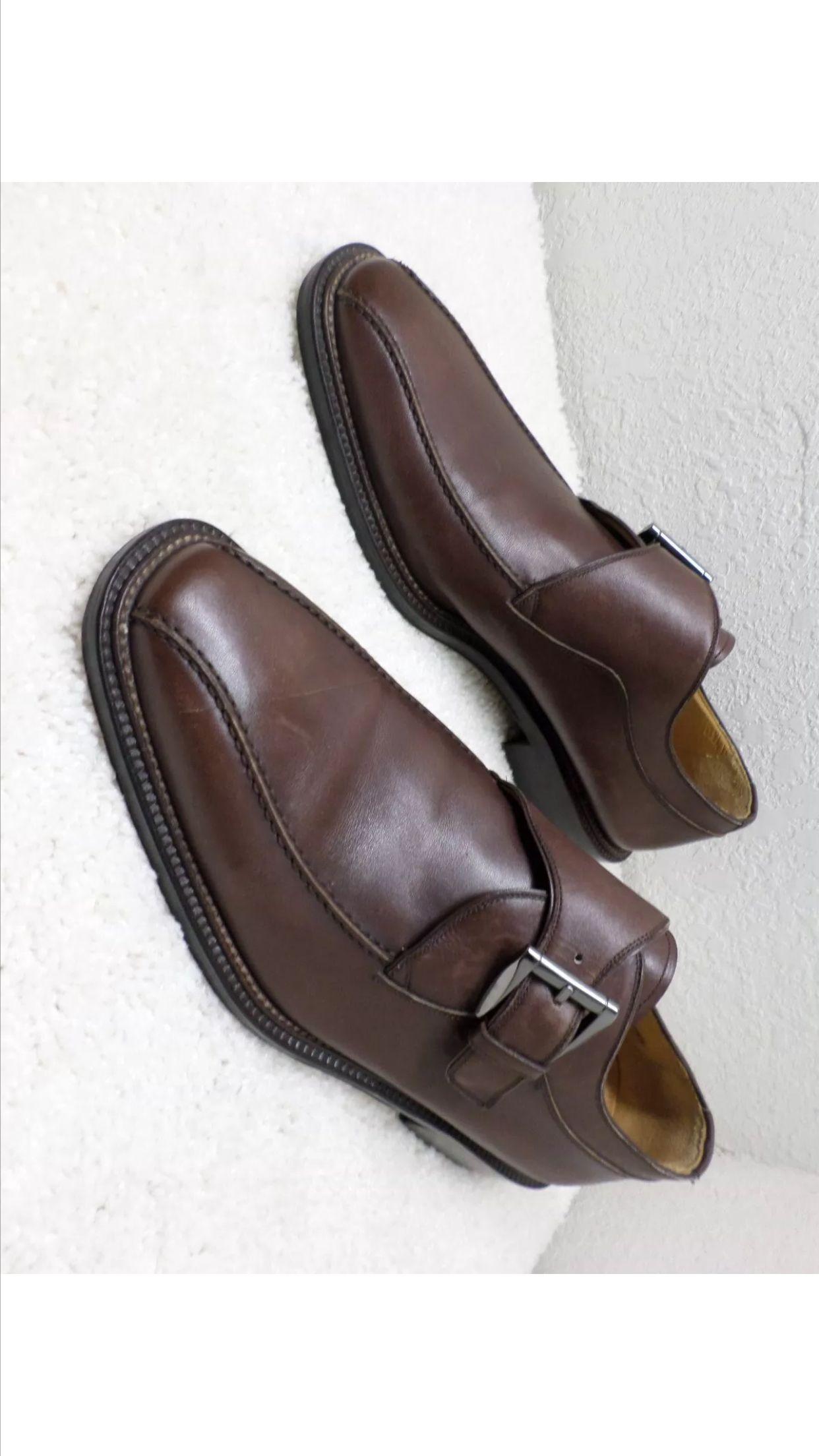 Soulier brown Monkstrap. GFA