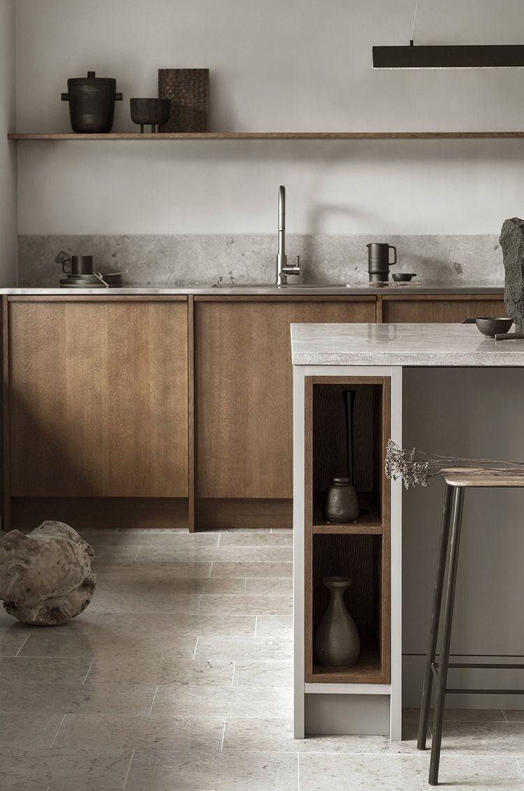 Küchenschränke basis nordic archipelago by nordiska kök a dark oak frame kitchen with