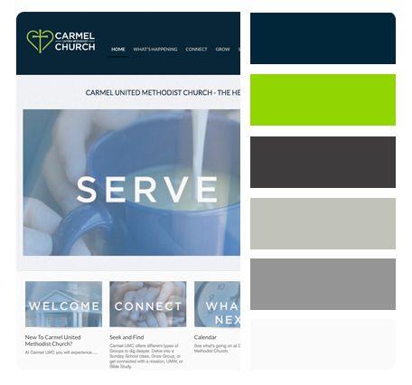 Church Website Color Schemes Website Color Schemes Church Media Design Church Media Website Color Schemes Church Branding Church Media Design