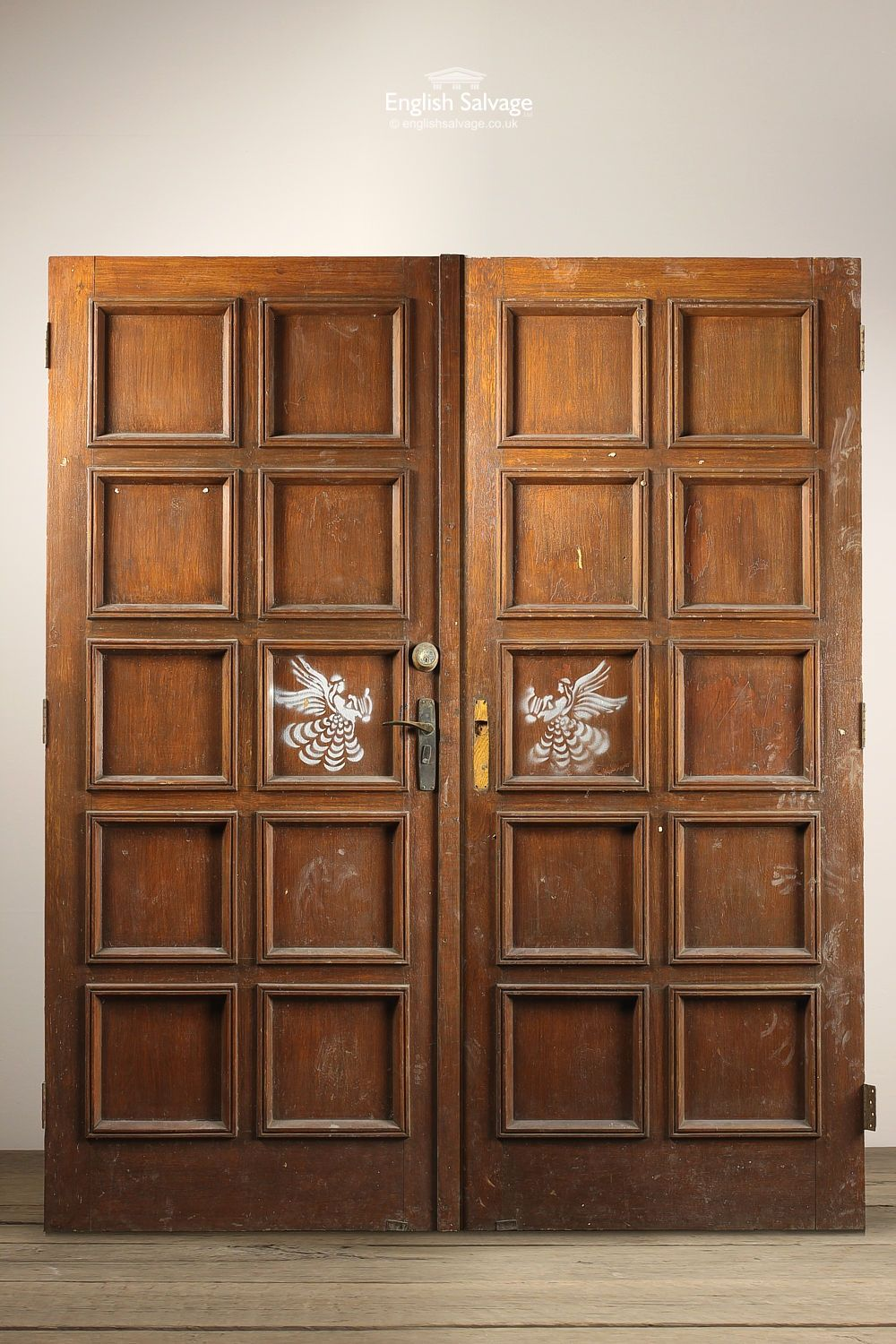 English Salvage (formerly Leominster Reclamation) are the premier architectural salvage and Reclamation Yard in the UK. Providing everything from reclaimed ... & Reclaimed Multi Panel Double Doors | Reclaimed Doors | Pinterest ... pezcame.com