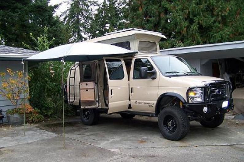 We Did Not Want To Order The Fixed Awning With Our Van Because Of Problems That Are Associated Them