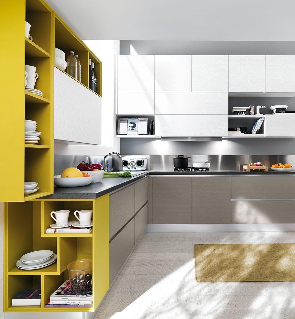 Essenza cucine moderne cucine lube bucatarie for Cucine moderne lube