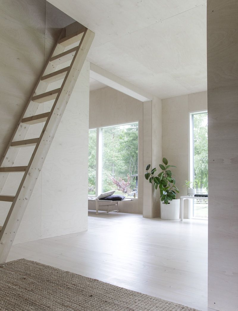 Summer House Interior Design Ideas From Berlin: House Styles, House, Summer House
